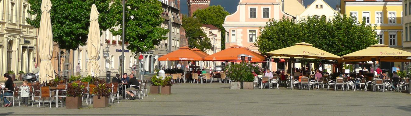 Altmarkt Cottbus (niedersorbisch: Stare wiki)