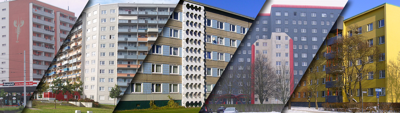 Geschichte der Plattenbauten (Cottbus)
