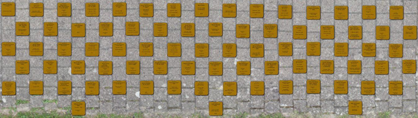 Liste der Stolpersteine (Cottbus)