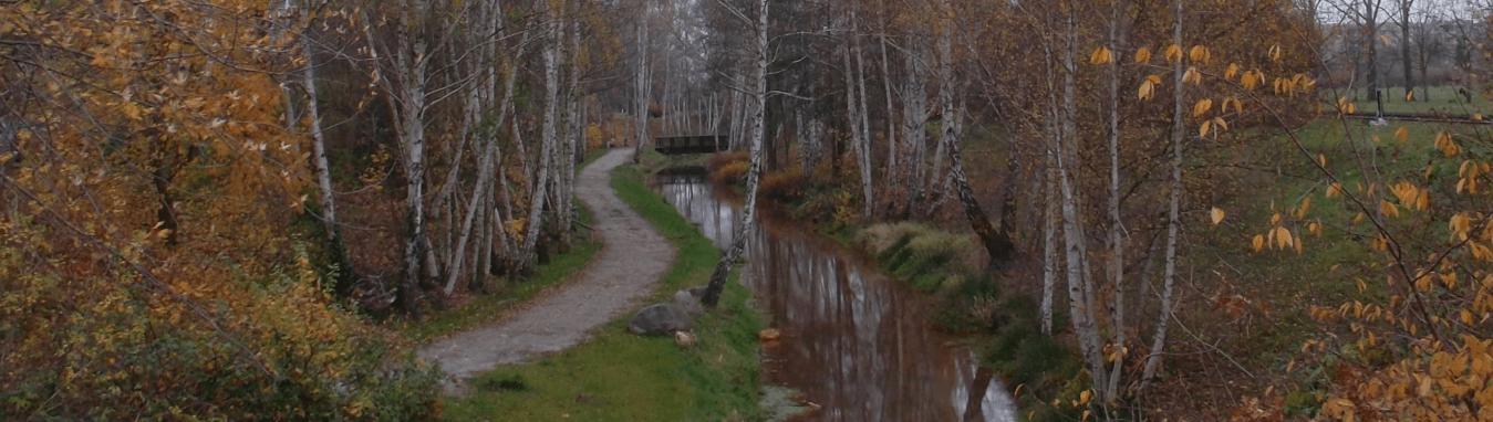 Der Findlingspfad am Schmellwitzer Fließ