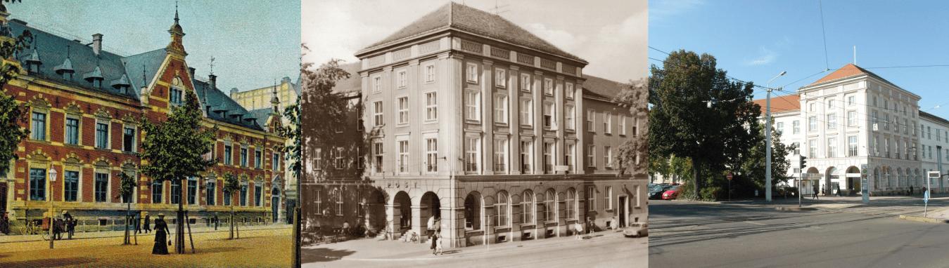 Postgeschichte Cottbus