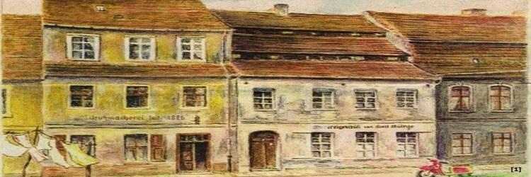 "Colonialwaren ""Das Haus zu den Drei Mohren"""